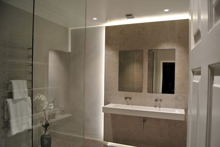 Guest Suite Bathroom:  Bathroom by Inspire Audio Visual