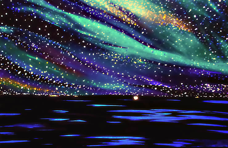 Magical Night:  Artwork by Teressa Nichole