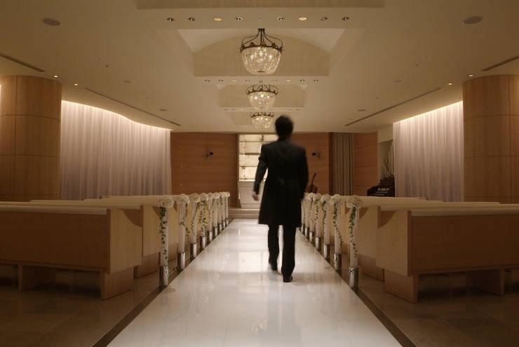 ANA CROWNE PLAZA HOTEL GRAND COURT NAGOYA Chapel: Shigeo Nakamura Design Officeが手掛けたホテルです。