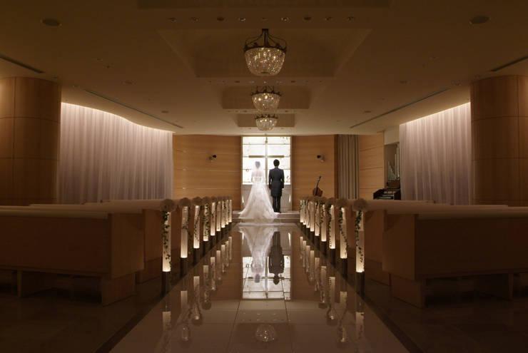 照明演出: Shigeo Nakamura Design Officeが手掛けたホテルです。