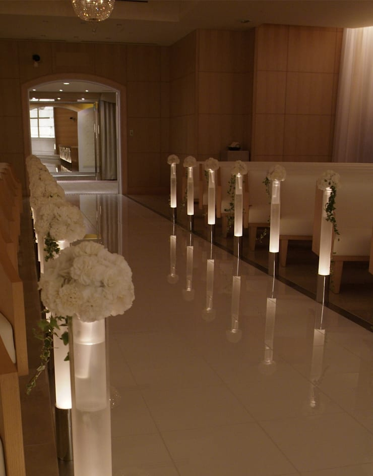 ANA CROWNE PLAZA HOTEL GRAND COURT NAGOYA Chapel: Shigeo Nakamura Design Officeが手掛けたオフィススペース&店です。