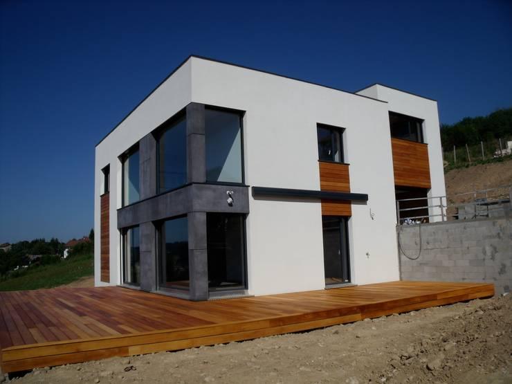 angle principal: Maisons de style  par Bak'erige