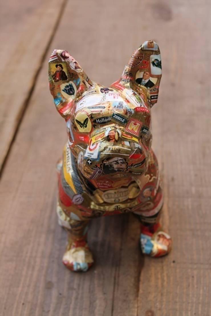 statue bouledogue: Art de style  par b2ccreation décoration