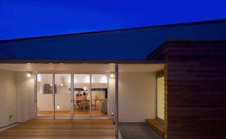 n・D モダンデザインの テラス の 一級建築士事務所 楽工舎 モダン