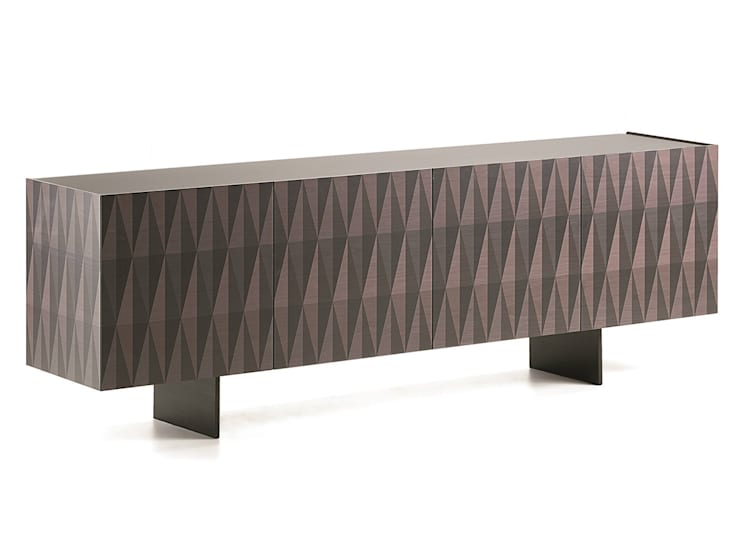 Arabesques sideboard:  Dining room by Livingfurnish Ltd