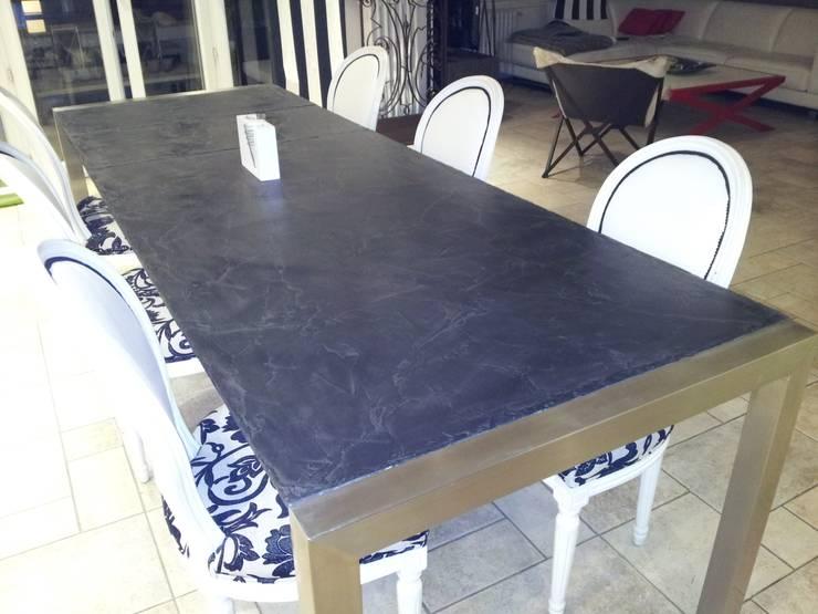 Table 2.70mx0.90: Salle à manger de style  par toujours maison