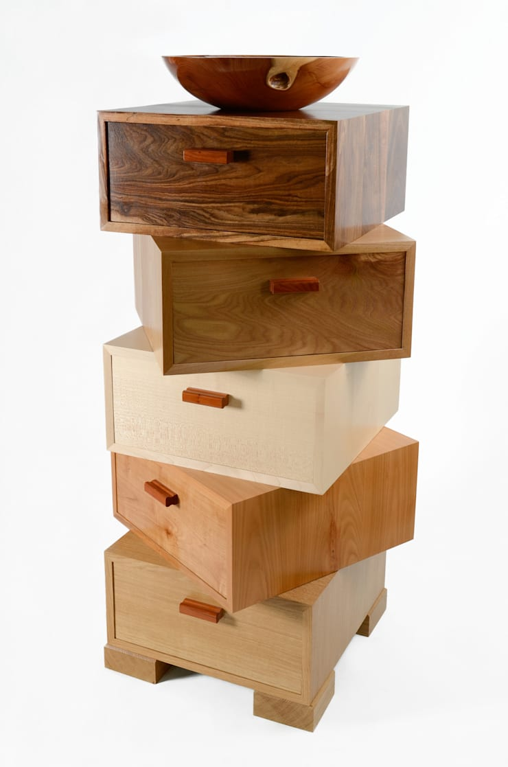 The Magnetic Stack:  Dressing room by Radiance Furniture Design