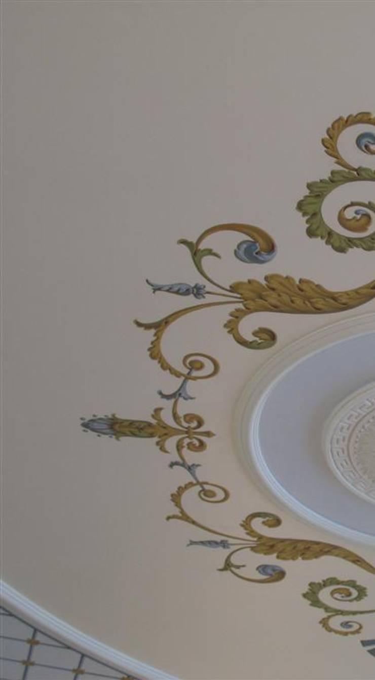 роспись потолка:  в . Автор – Абрикос , Классический