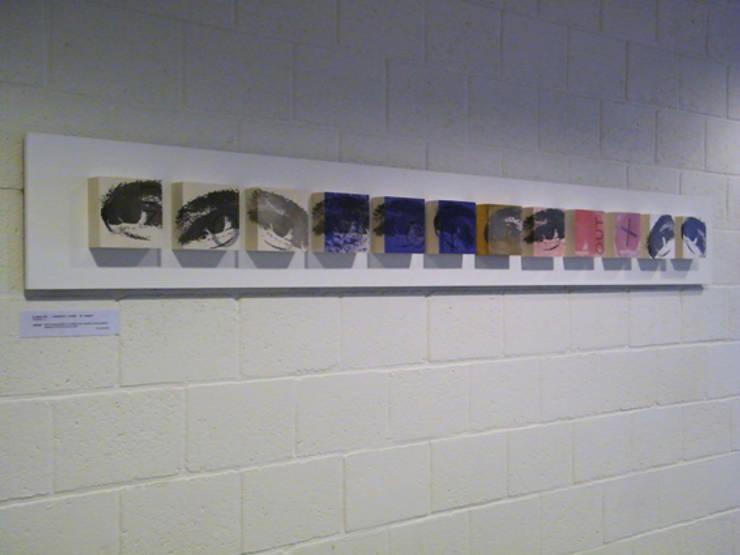 Signals of life - E - Composition   II :  Kunst  door Marc Verbruggen - ceramic art