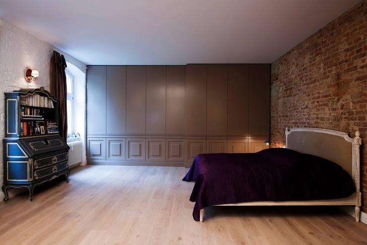 eclectische Slaapkamer door spreeformat architekten GmbH