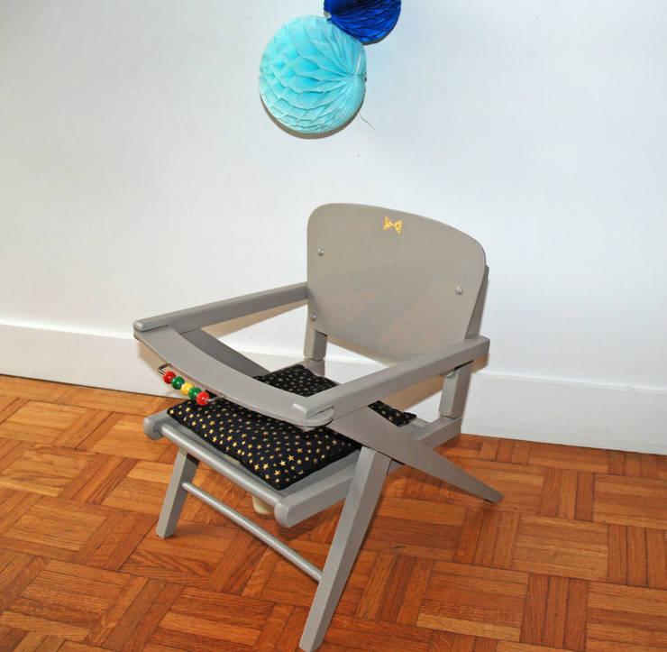 Adèle, une petite chaise pot vintage: Chambre d'enfants de style  par Mademoiselle Minouchette