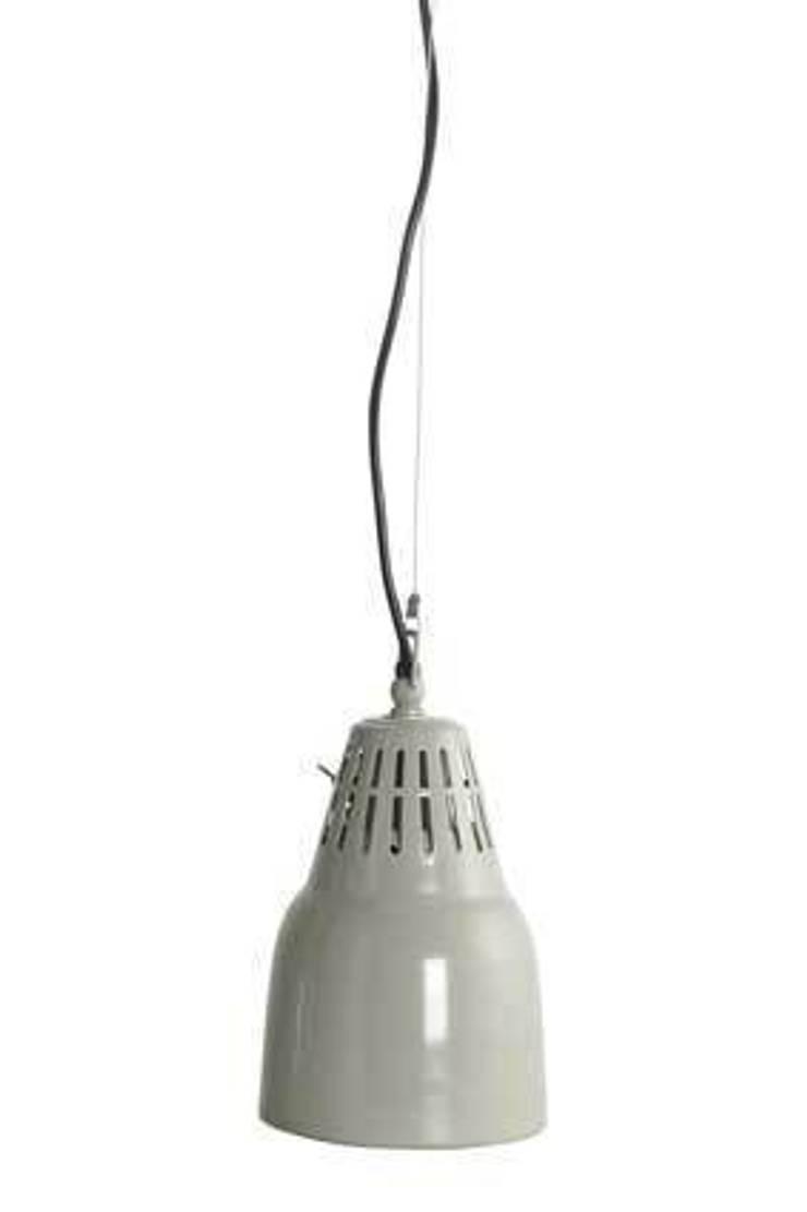 Vintage Style Grey Pendant Light:  Kitchen by House Envy