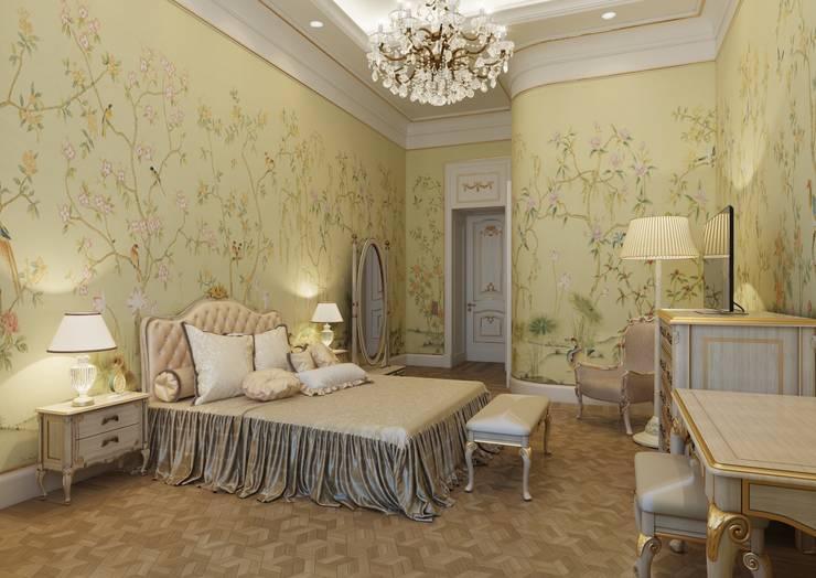 Спальня детская:  в . Автор – Архитектор Николай Бахтинов