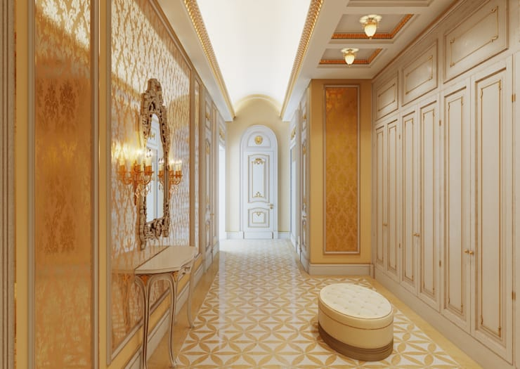 Холл:  в . Автор – Архитектор Николай Бахтинов