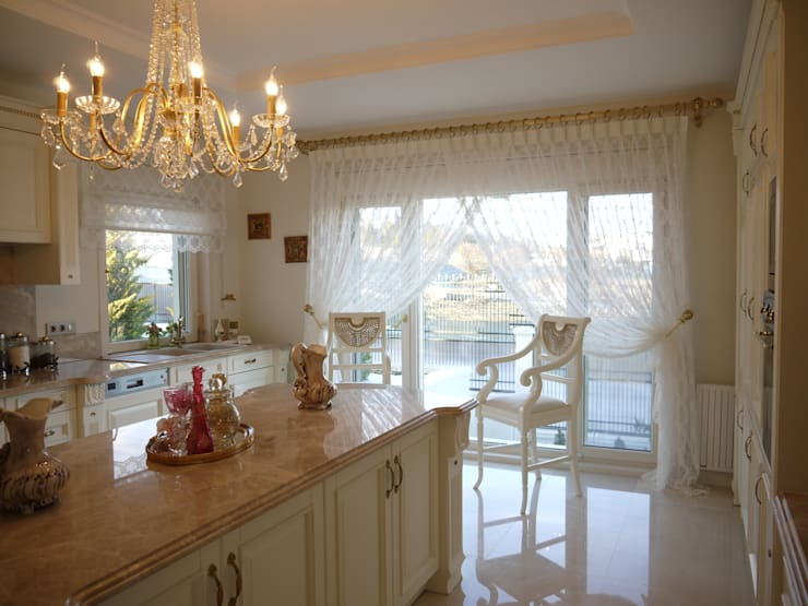 Kitchen by PİLE PERDE