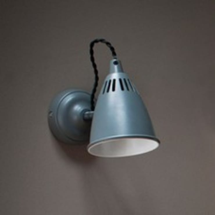 Wall Light - Charcoal:  Office spaces & stores  by Mister Smith Interiors