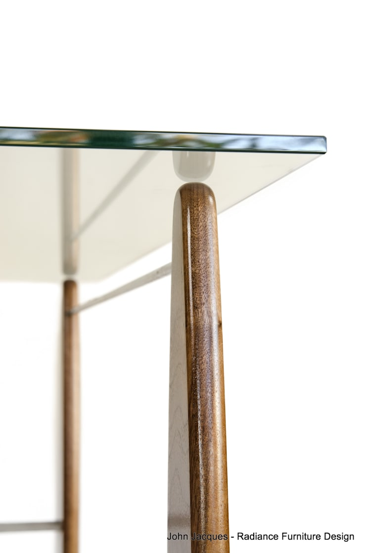Surf's Up Walnut Console Table:  Dressing room by Radiance Furniture Design