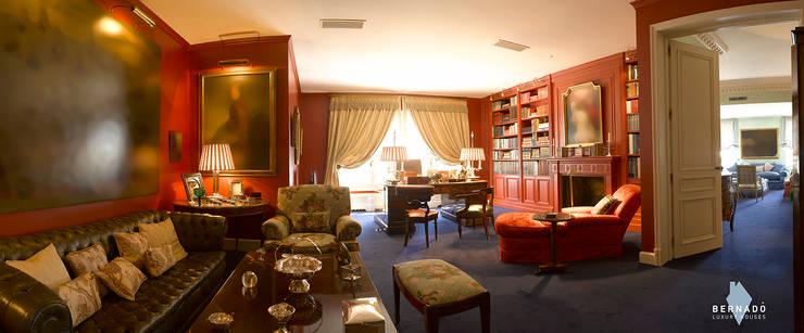 Despacho: Estudios y despachos de estilo  de Bernadó Luxury Houses