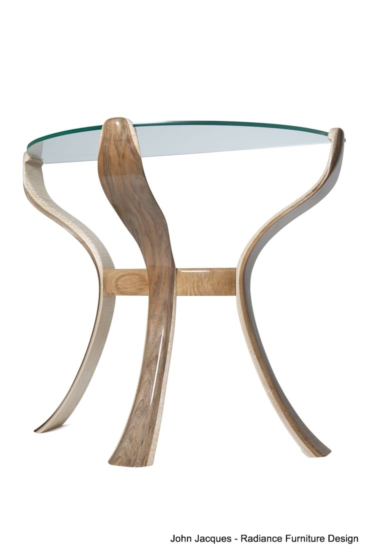 The Byrne Console Flower Table:  Kitchen by Radiance Furniture Design