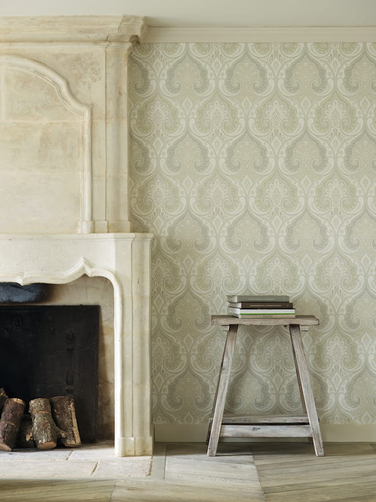 Wallpaper:  Walls & flooring by Mister Smith Interiors