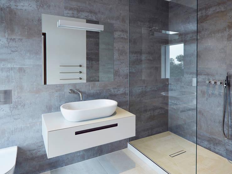Bathroom Baños de estilo minimalista de Facit Homes Minimalista