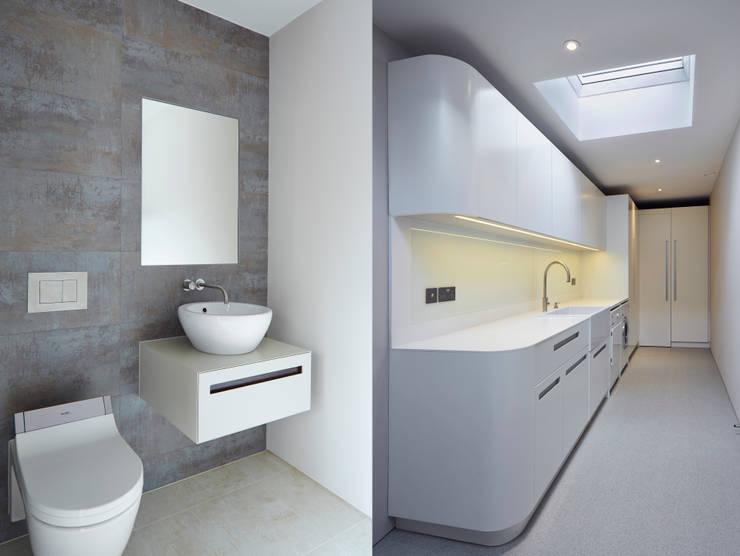 Utility & WC Cocinas de estilo moderno de Facit Homes Moderno
