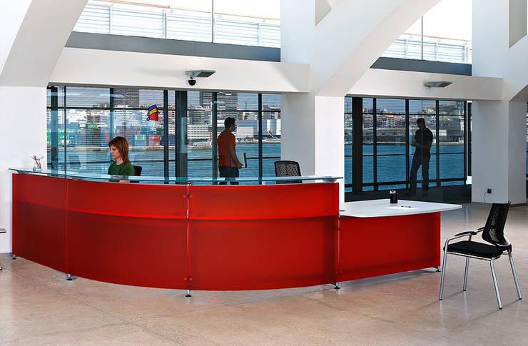 MOSTRADOR INFORMA ACTIU 3: Oficinas y tiendas de estilo  de comercial30