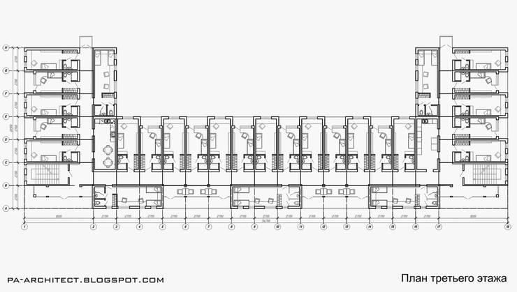 План третьего этажа:  в . Автор – Павел Авсюкевич