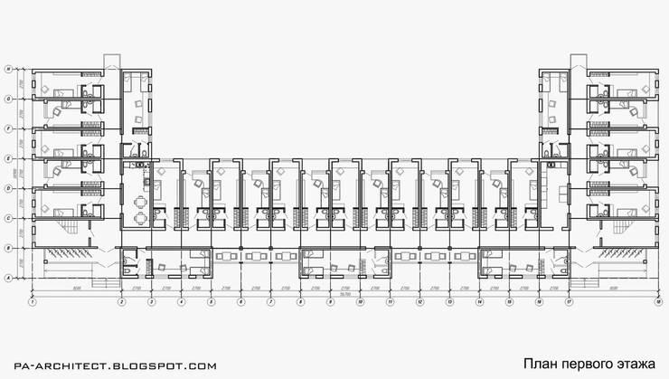 План первого этажа:  в . Автор – Павел Авсюкевич