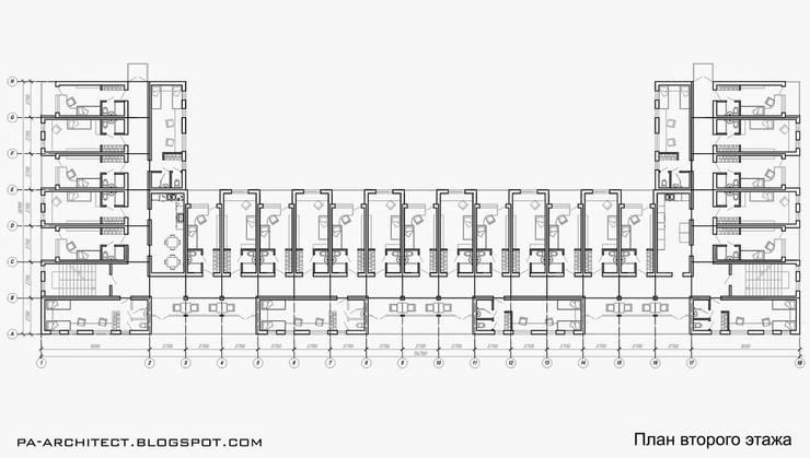 План второго этажа:  в . Автор – Павел Авсюкевич