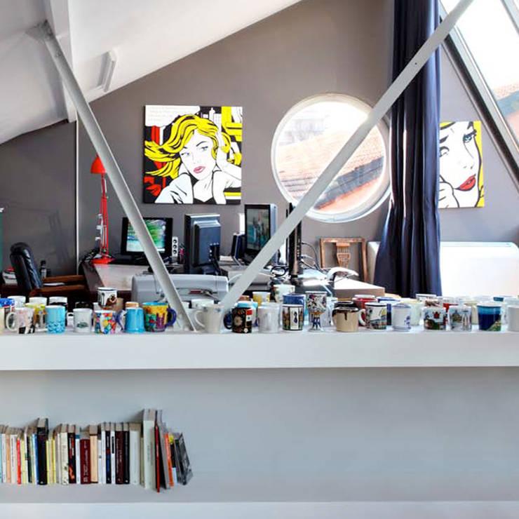 Loft in zona Savona a Milano: Studio in stile  di Studio fase,