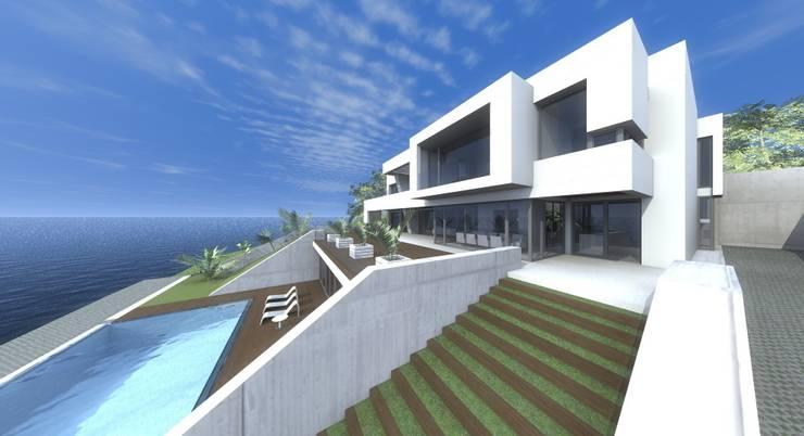 VIVIENDAS: Casas de estilo  de ELEMENT-OS. Arquitectura, Interiorismo, Urbanismo