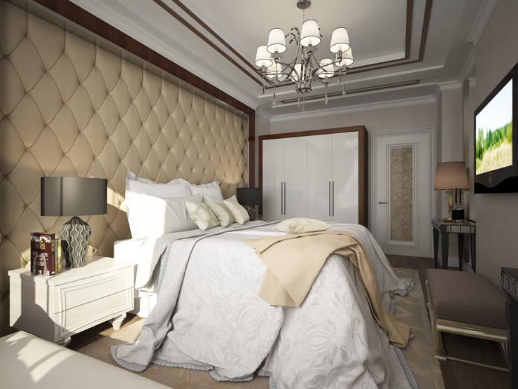 Дизайн-проект спальни:  в . Автор – PLAN