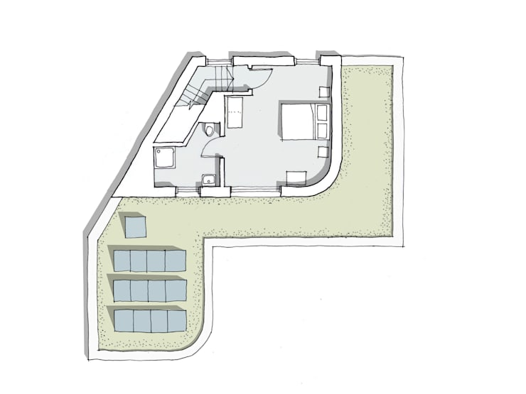 First Floor Plan:   by Facit Homes