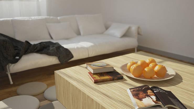 Interiors   Living room  Architecture, Digital Art, Interior Design :  Living room by DesigniTures