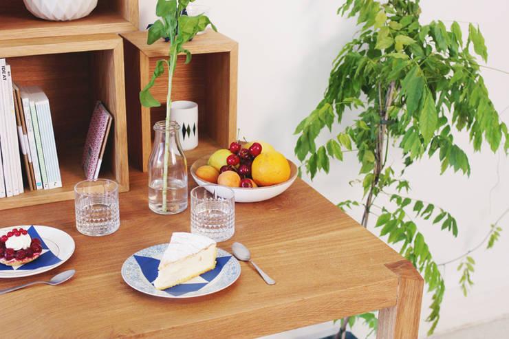 Mobilier - Diamond: Salle à manger de style  par Ektor studio