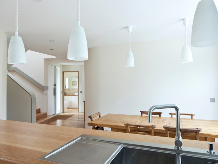 Super Insulated Eco Home:  Kitchen by Facit Homes