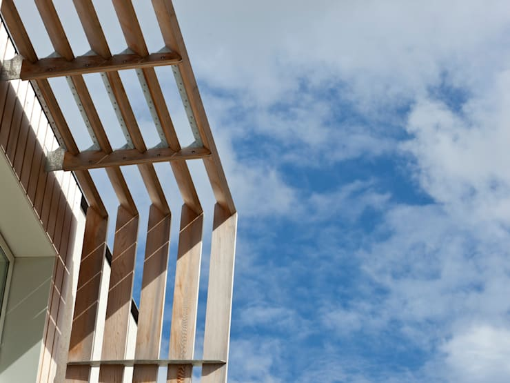 Solar Shades:  Houses by Facit Homes