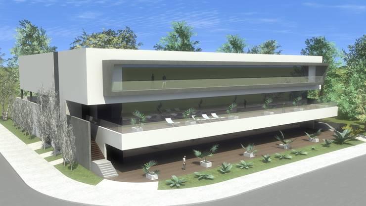 OTRAS EDIFICACIONES: Centros comerciales de estilo  de ELEMENT-OS. Arquitectura, Interiorismo, Urbanismo