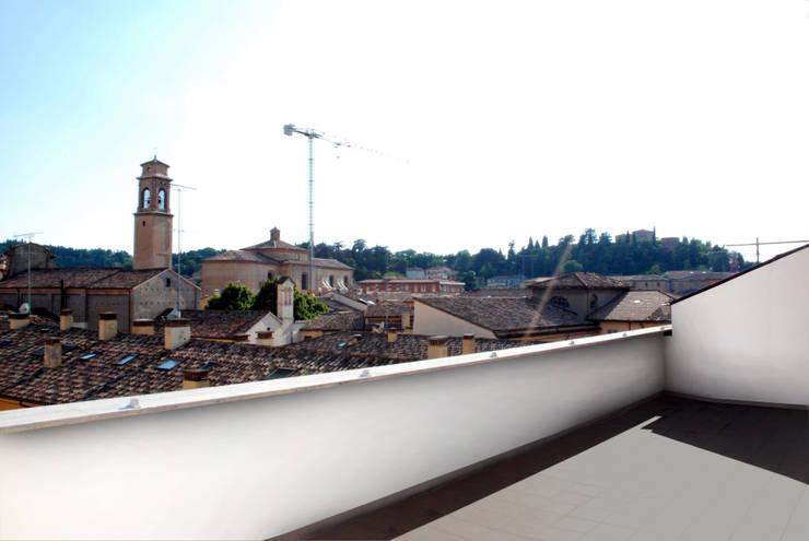 Projekty,  Taras zaprojektowane przez andrea nicolini architetto