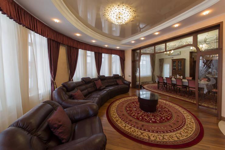 art nouveau interior:  Living room by ps-design