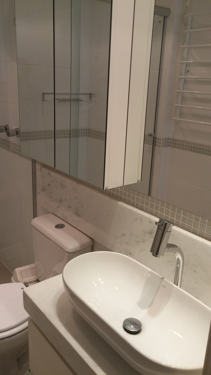Banheiro: Banheiros  por Interior Design Christiano Carvalho
