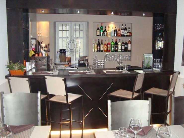 vue du bar: Restaurants de style  par BARONBARON