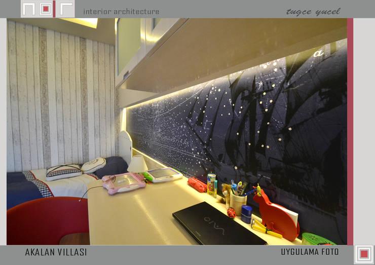 Nar İç Mimarlık – MILLENIUMPARK VILLA SI: modern tarz Oturma Odası