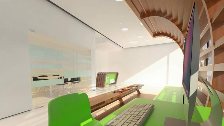 Clinique dentaire: Cliniques de style  par TSARA Architectures