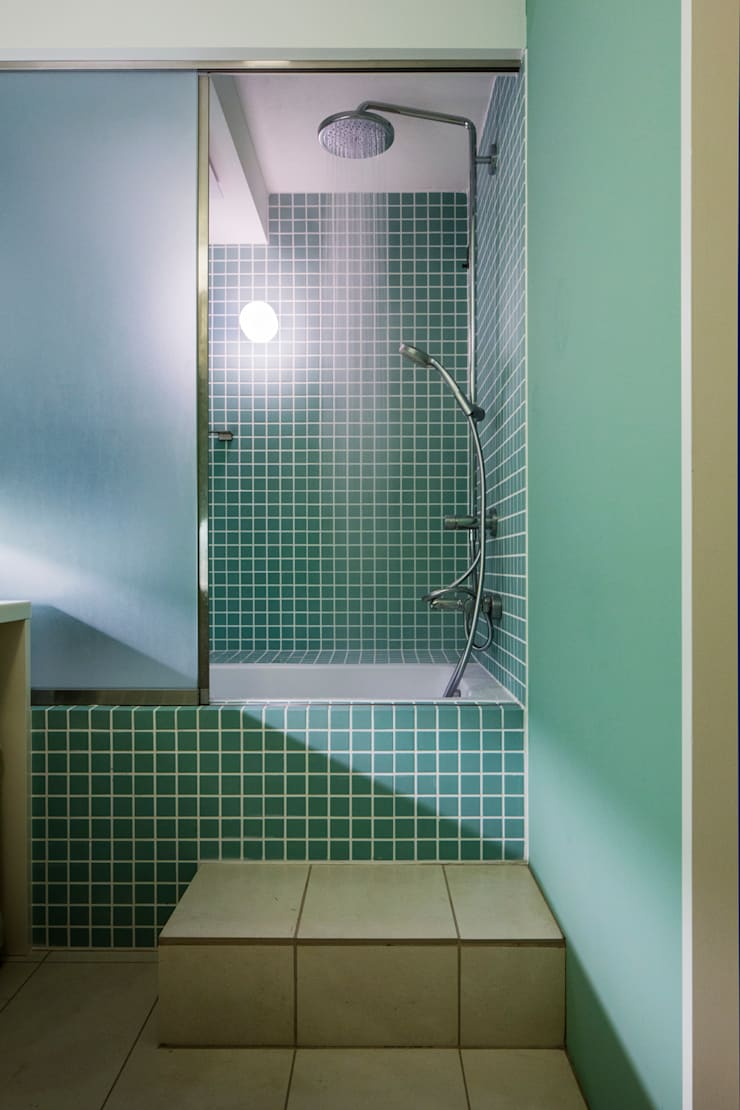 Bathroom by Nojima Design Office, Modern