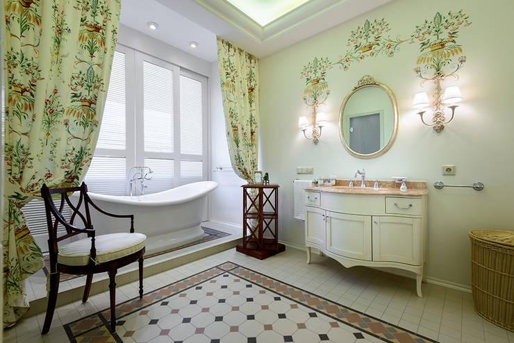 New classic: Ванные комнаты в . Автор – Omela