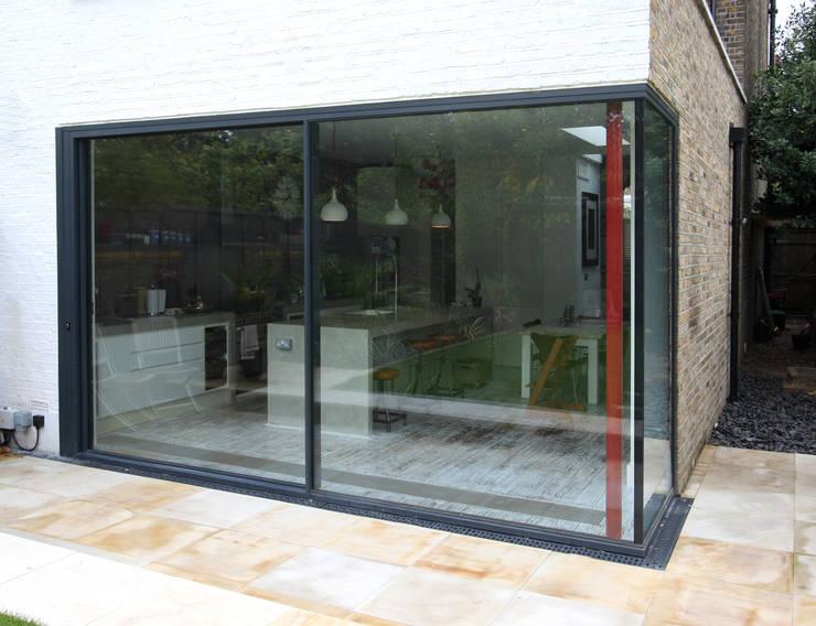 Lynton Road:  Windows  by IQ Glass UK