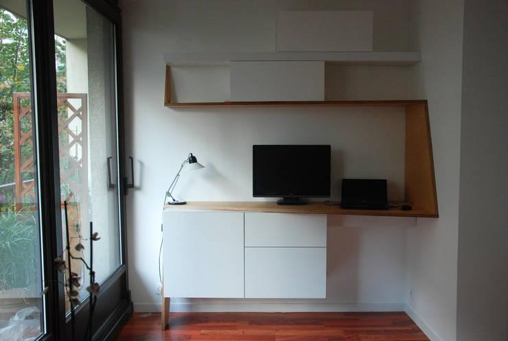 Studeerkamer/kantoor door nicolas cuvillier