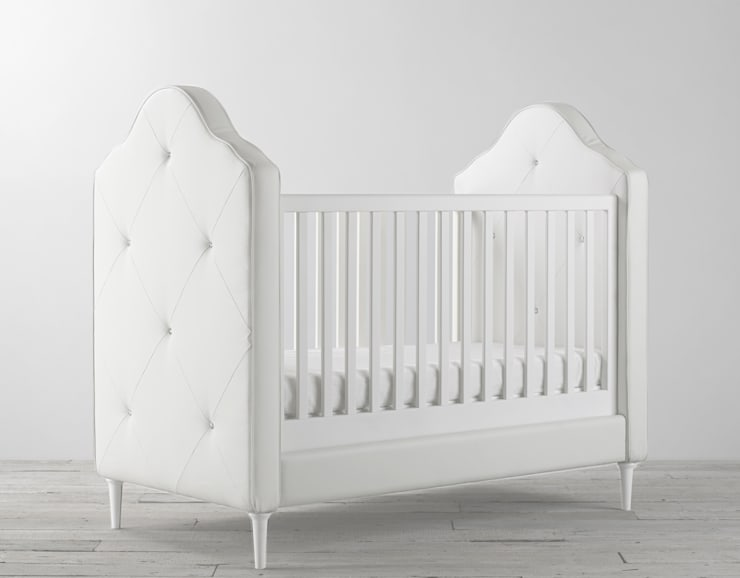 Delphine Cot Bed: classic Nursery/kid's room by Custard & Crumble